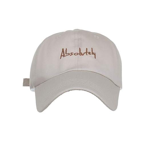14e0bec6 DDKK New Outdoor Quick Dry Sun Hat Folding Portable Unisex UV SPF 50+  Baseball Cap, Embroidered 100% Cotton Cap Beige at Amazon Women's Clothing  store: