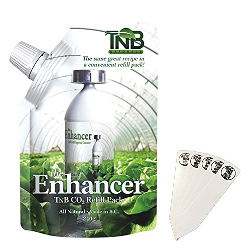 TnB Naturals The Enhancer Co2 Refill Pack - 240g + Stakes (Co2 Plant Natural)