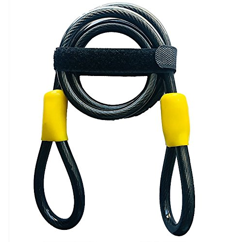 Fitting Stores Heavy Duty Bike U-Lock with Cable by Fitting Stores (Image #2)