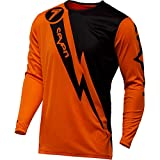 Seven Annex Volt Boys Off-Road Motorcycle Jersey - Flow Orange/Small