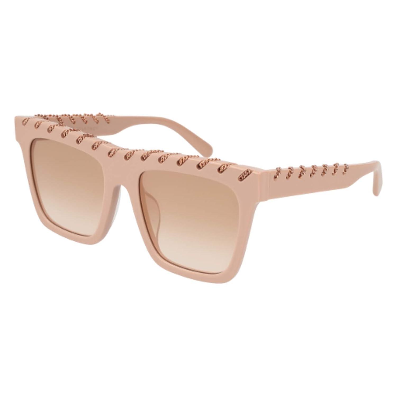 004 PINK//GOLD Sunglasses Stella McCartney SC 0128 SA