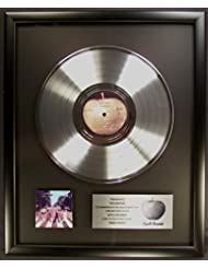 The Beatles Abbey Road LP Non RIAA Platinum Record Award Apple Records To The Beatles