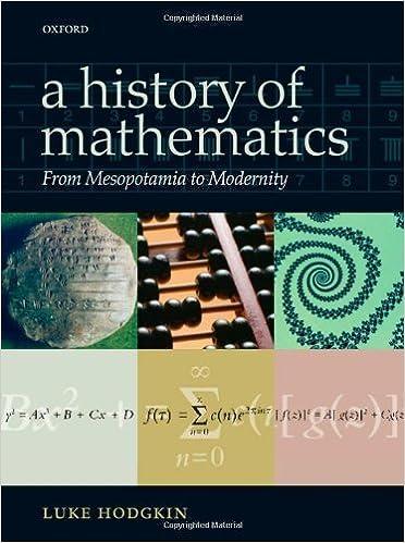 Téléchargements gratuits de livres audio pour kindle A History of Mathematics: From Mesopotamia to Modernity by Luke Hodgkin (2005-08-11) B01FKT0ZDC (Littérature Française) PDF FB2 iBook