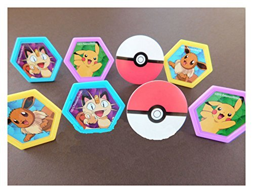 Price comparison product image POKEMON Cupcake Toppers Rings 24 count