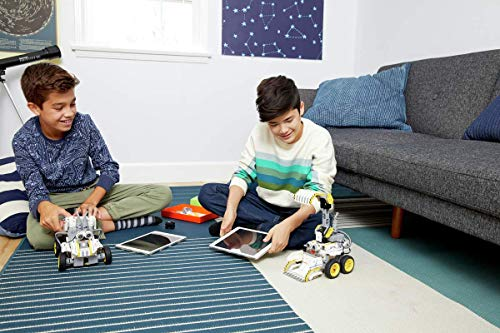UBTECH JIMU Robot Builderbots Series: Overdrive Kit / App-Enabled Building and Coding STEM Learning Kit (410 Parts and Connectors) by UBTECH (Image #8)