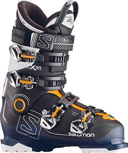 - Salomon X-Pro X90 CS Ski Boots - 25.5/Black-Petrol Blue-White