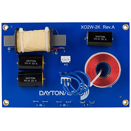 Dayton Audio XO2W-2K 2-Way Crossover 2,000 Hz (Dayton Crossover compare prices)
