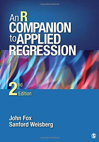 An R Companion to Applied Regression by John Fox - Stores Sanford Mall