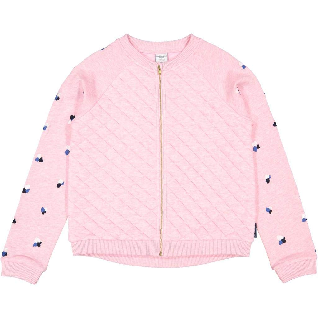 Polarn O 6-12YRS Pyret Pink Quilted ECO Zip Jacket