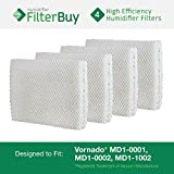 Vornado-MD1-0001-MD1-0002-MD1-1002-Humidifier-Wick-Filter-Designed-by-FilterBuy-to-fit-all-Vornado-Evaporative-Humidifiers-Pack-of-4-Filters