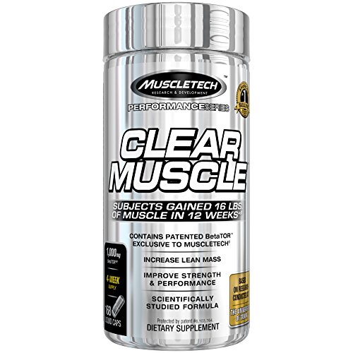 MuscleTech Clear Muscle Post Workout Recovery and Strength Builder, Amino Acid & Muscle Recovery Supplement, 168 Count (Best Anabolic Steroids To Get Ripped)