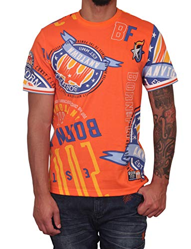 Born Fly Iron Pig Tee Orange (Born Fly Clothing)