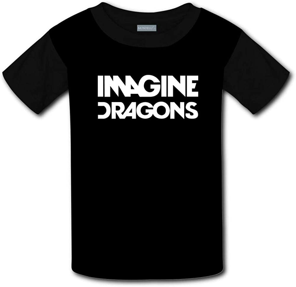 Shirts Short Sleeve Kids Tee Unisex Youth 3D Imagine Dragons Evolve 3D Printing T