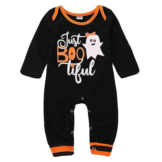 643605f25 Baoyl Baby Boy Girl Cute Halloween Costumes Ghost Letters Print ...