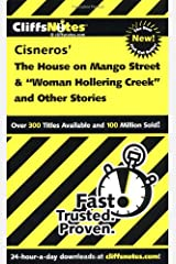 CliffsNotes on Cisnero's The House on Mango Street & Woman Hollering Creek and Other Stories (Frommer's) Paperback