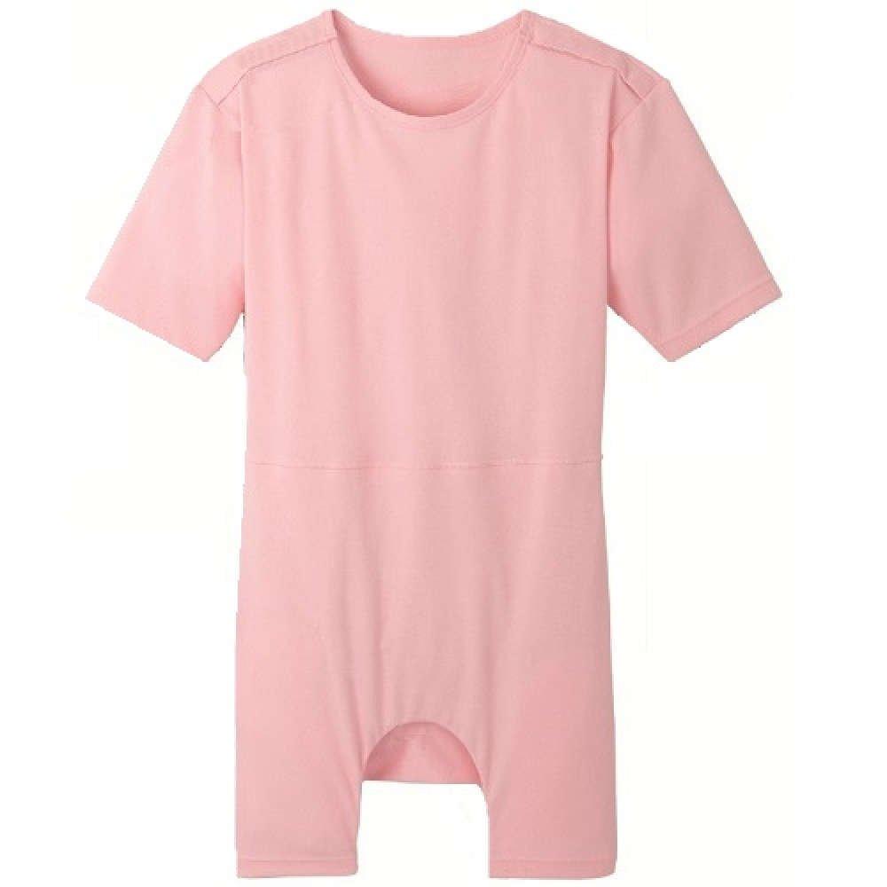 【介護】【入院】 TスーツII 両肩開きロンパス型:ピンク (LL) B00TPZZC36 LL  LL