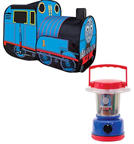 Bundle Includes 2 Items - Playhut Thomas the Train Play Vehicle and Schylling Thomas Mini Lantern