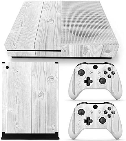 XBOX ONE S Skin Design Foils Pegatina Set - White Wood Motivo: Amazon.es: Videojuegos