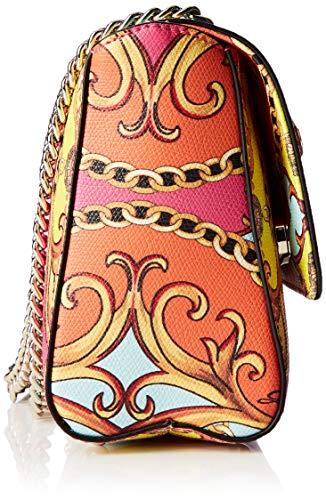 Flap Bandolera Mujer Bolsos Jori coral Xbody Guess Multi Convertible Multicolor fawBqSO