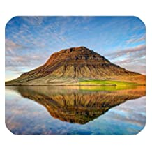 Clouds Nature Iceland Landscape Reflection Custom Rectangle Mousepad