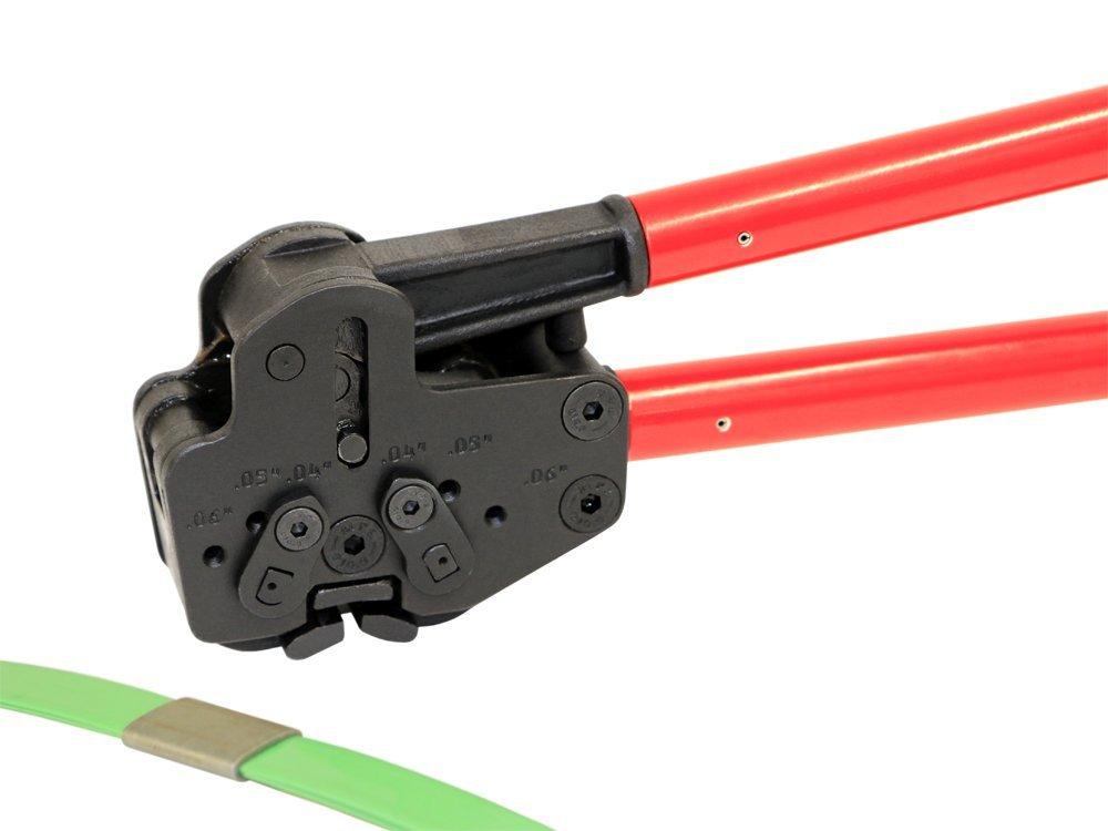 Teknika MUL-381 Heavy Duty Sealer for PET//PP Strapping 3//4 Strap Width