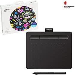"Wacom Intuos Drawing Tablet, with Free Creative Software Download, 7.9""x 6.3"", Black (CTL4100)"