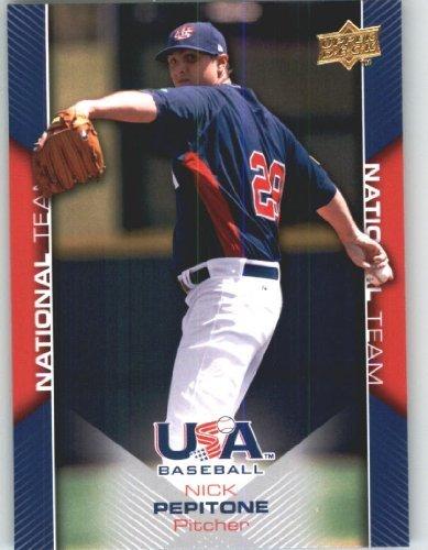 Upper Deck Usa Rookie Baseball - 2009 Upper Deck USA Baseball Rookie Card #USA-6 Team USA