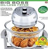 BIG BOSS 1300-Watt Oil-Less Fryer, 16-Quart by BIG BOSS