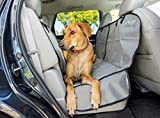 Dog Car Hammock – Large Back Seat Cover for Pets – Waterproof and Non-slip Backing – Quilted, Padded, Durable, with Side Flaps – Dog Seat Belt Included Review
