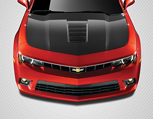 Carbon Creations ED-RLD-723 Z28 Look Hood - 1 Piece Body Kit - Compatible For Chevrolet Camaro 2010-2015