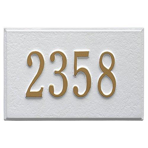 - Whitehall Wall Mailbox Plaque (White)