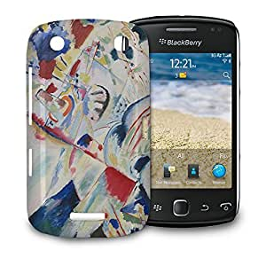 Phone Case For BlackBerry Curve 9380 - Kandinsky Abstract Art Painting Glossy Hardshell by lolosakes