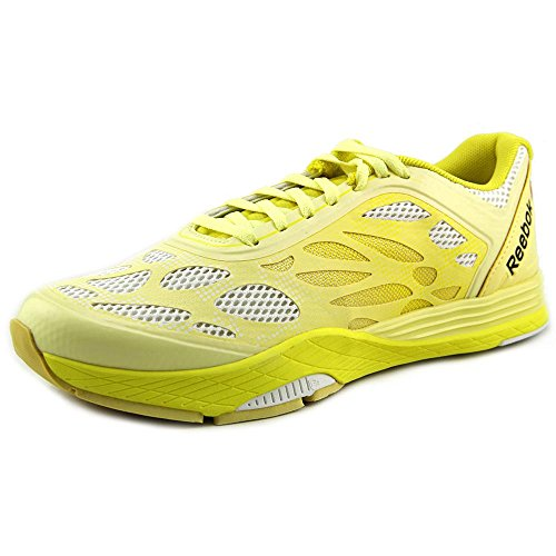 Reebok Womens LM Cardio Ultra Ankle-High Running Shoe Yellow