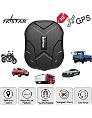 TKSTAR 3G Real-time GPS Tracker, Waterproof Vehicles Trucking Device Long Battery 60 Days Life Built-in Magnets Online Moving Tracking Canada Locator for Cars Boats Fleet (3G TK905)