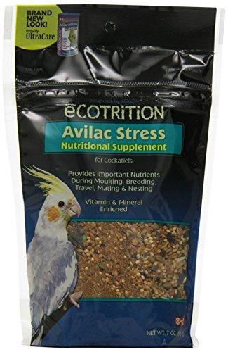 - Ecotrition Avilac Stress Nutritional Supplement For Cockatiels, 7 Ounces (C570)