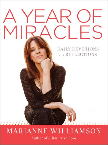 A Year of Miracles: Daily Devotions and Reflections cover