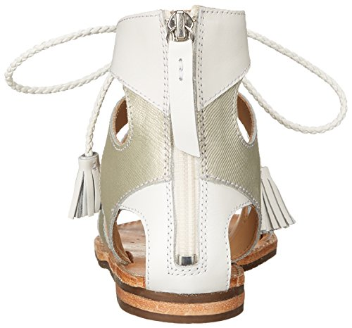 Geox D Sozy P - Sandalias de vestir Mujer Blanco (C1352)