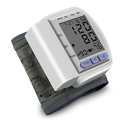 JUJU MALL-Digital LCD Upper Arm Cuff Blood Pressure Pulse Automatic Monitor Heart (Daily Blast Energy Elixir)