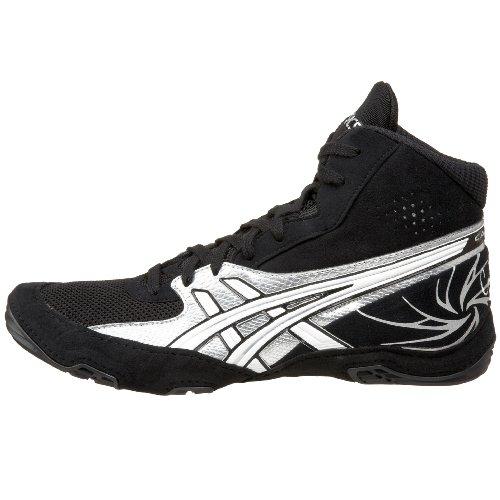 asics cael v4.0 wrestling shoes - yellow/white/black