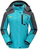 Search : Wantdo Women's Outdoor Sports Hooded Windproof Waterproof Rain Jacket