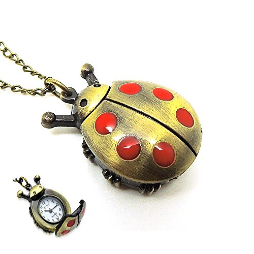 Lady Bug Watch Pendant 30