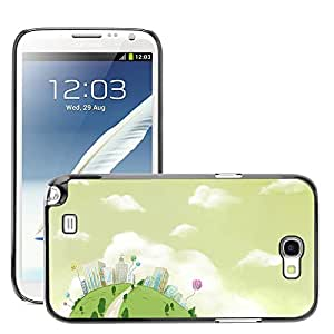 Hot Style Cell Phone PC Hard Case Cover // M00045388 drawings 19 digital painting // Samsung Galaxy Note 2 II N7100