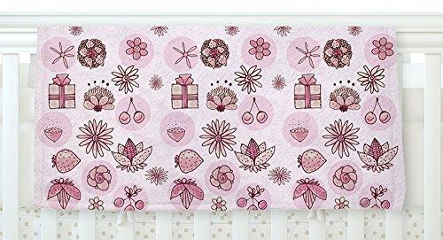 KESS InHouse Marianna Tankelevich Cute Stuff Pink Illustration Fleece Baby Blanket 40 x 30 [並行輸入品]   B0785PP335