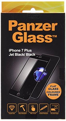 PanzerGlass 2,5D display vetro di protezione (Case friendly); adatto per Apple Iphone 7Plus, nero