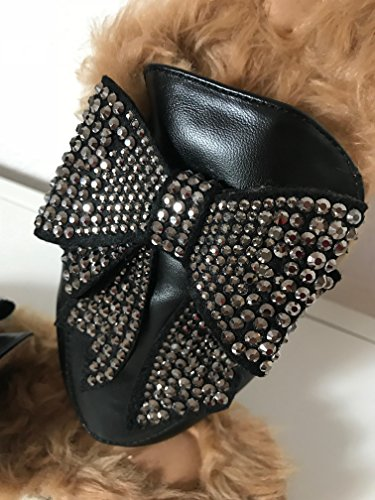 Strass Simil Pelle Ciabatta Top Fashion Glamour Nando's Mocassino Con R48IwzxM