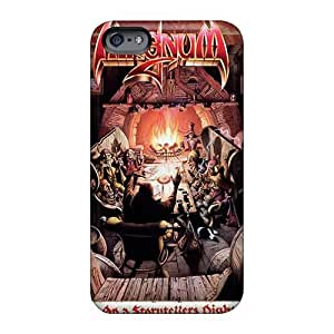 DrawsBriscoe Iphone 6 Shock Absorbent Cell-phone Hard Cover Customized Fashion Papa Roach Image [Mcu19544sUjd]