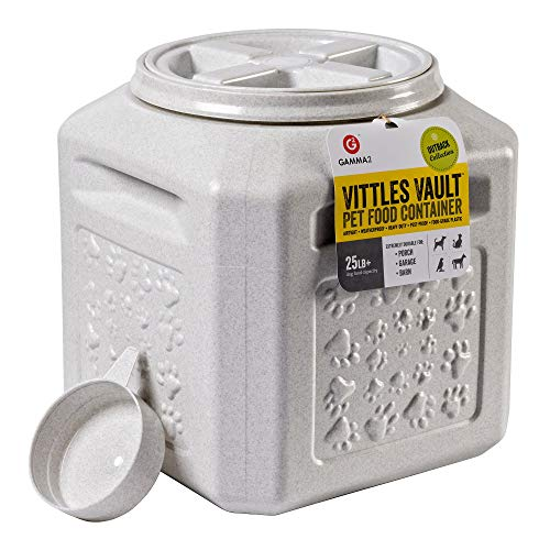 Vittles Vault Outback 25 lb Airtight Pet Food Storage Container (Renewed)
