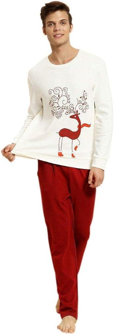Navidad para Mujer para Hombre Parejas Pijamas De Conjunto ...