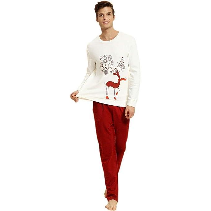 famosa marca de diseñador tienda oficial muchos estilos Navidad para Mujer para Hombre Parejas Pijamas De Invierno ...