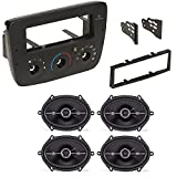 FORD MERCURY 2000- 2007 CAR CD STEREO RECEIVER DASH INSTALL MOUNTING KIT WIRE HARNESS AND SPEAKERS